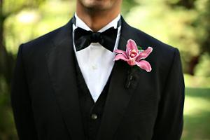 Boutonnières o botones, para el novio más elegante