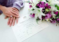 Testigos de una boda civil