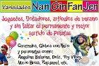 Variedades Nanginfanjen - Artículos de fiesta