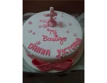 Cake Para Bautizo