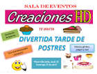 Creaciones H. D. - Salones para eventos y recepciones