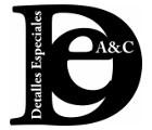 Detalles Especiales A&C - Decoración para fiestas