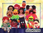 Los Soldaditos - Teatro de Títeres - Payasos, pintacaritas y títeres