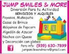 Jump Smiles & More - Payasos, pintacaritas y títeres