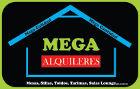 Mega Alquileres - Alquiler de mobiliario