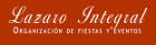 Lazaro Integral - Organización de eventos