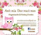 Antonia Decoraciones  - Decoración para fiestas