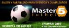 Master 5 eventos - Salones de fiestas infantiles